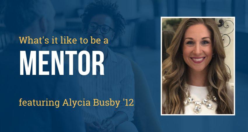Alycia Busby UMassD alumni mentor