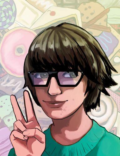 Alex Amarello self portrait