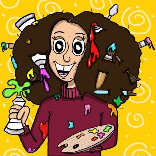 Astrid Gomes self portrait