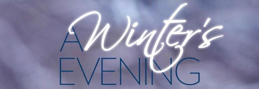 A Winter's Evening opera banner