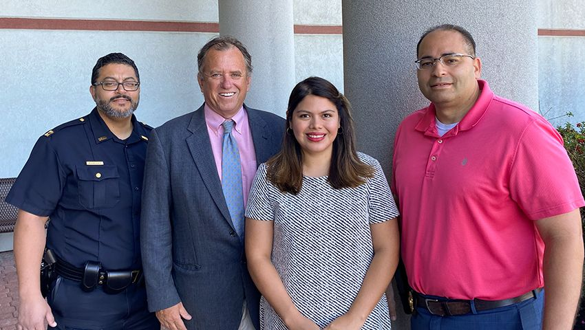 Recipient of 2nd Hispanic Police Officers of New Bedford Law Scholarship